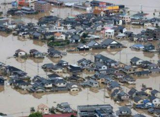 日本水灾夺近180人命
